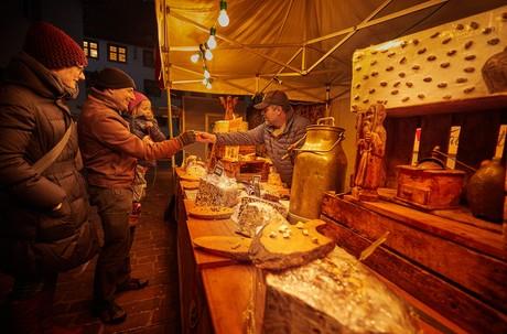 Nougat-Stand beim Radolfzeller Schokoladenmarkt