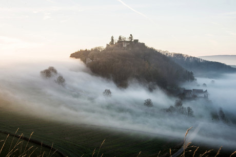 Nebel am Mägdeberg
