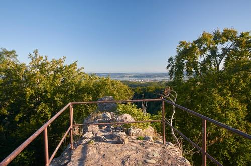 PR - Blick von der Burgruine Homburg
