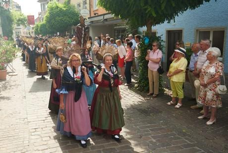 Prozession beim Hausherrenfest