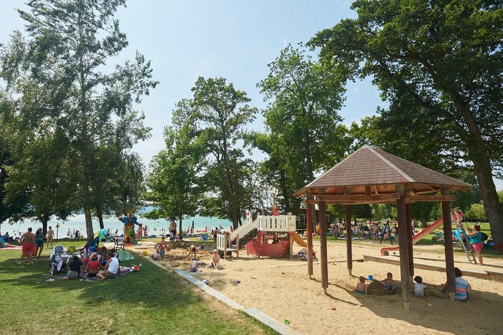 Strandbad auf der Mettnau