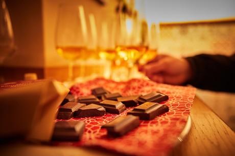 Workshop Whisky und Schokolade beim Radolfzeller Schokoladenmarkt