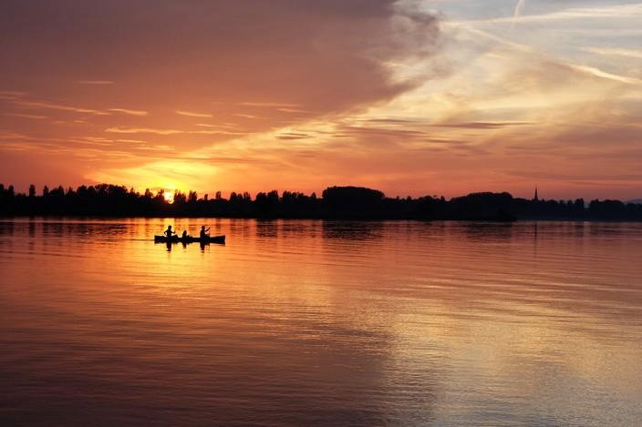 Sonnenuntergang Gnadensee