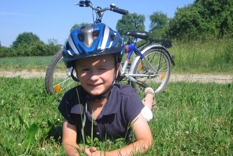 Radtour mit Kind