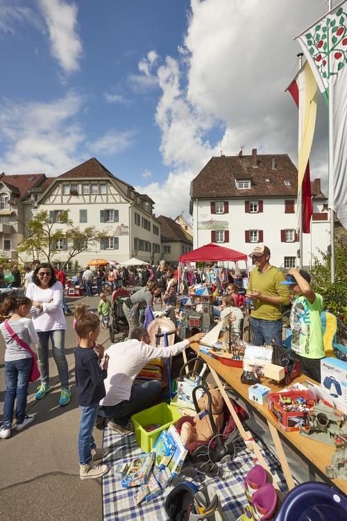 PR - Kinderflohmarkt beim Radolfzeller Altstadtfest