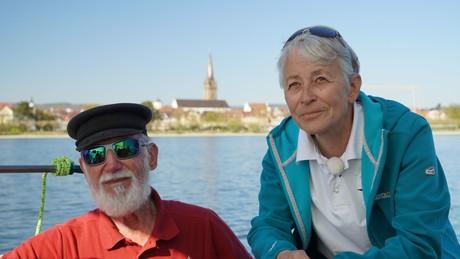 Skipper Carola und Kürgen Habenicht von der Seewiefke