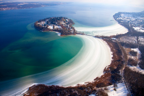 Insel Mainau im Winter