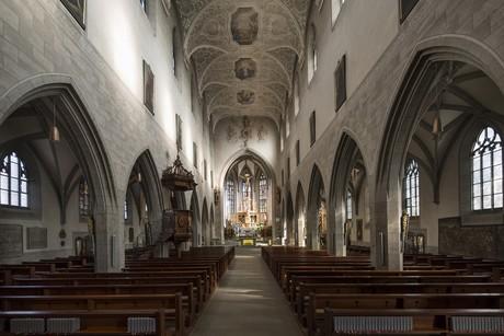Radolfzeller Münster von Innen