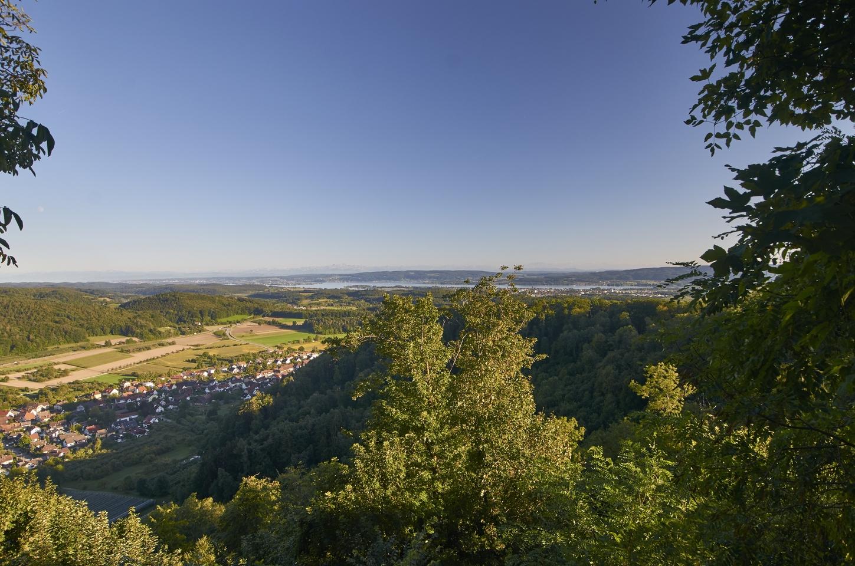 Blick von der Homburg auf Stahringen und Radolfzell