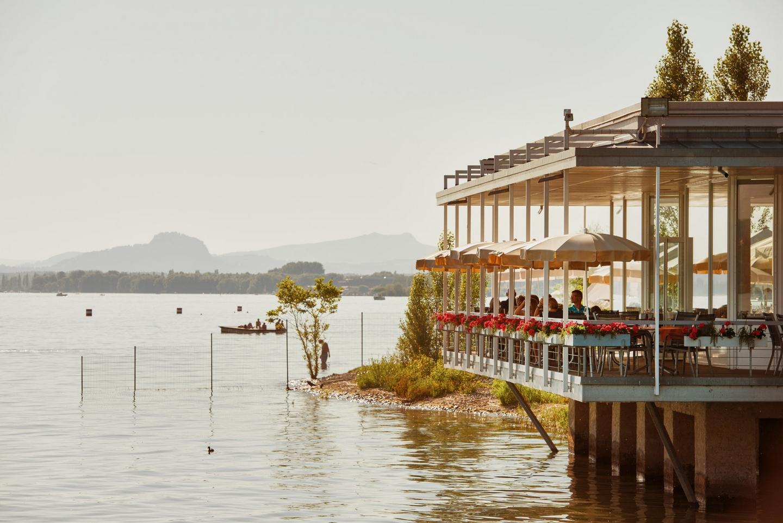 Restaurant Strandcafé auf der Mettnau