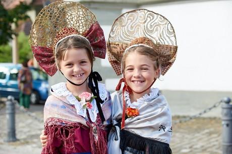 Hausherrenfest Trachtenmädchen
